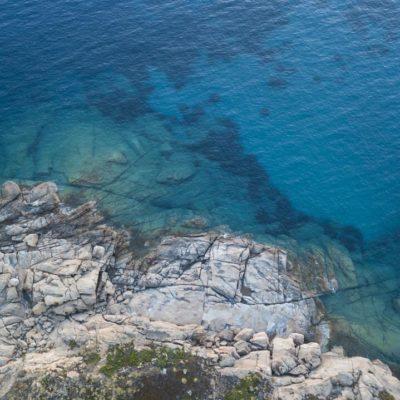 scogliera isola del giglio