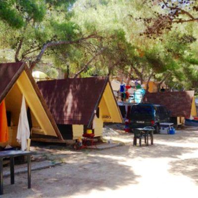 bungalow campeggio isola del giglio