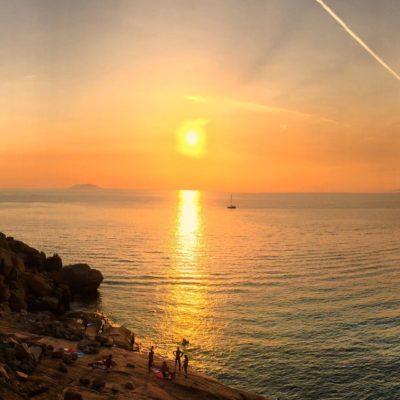tramonto isola del giglio